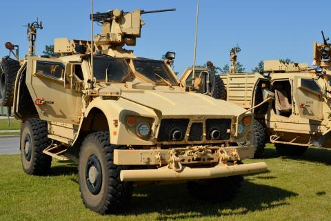 lightweight castings for tactical vehicles